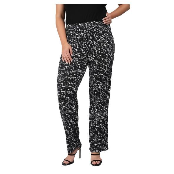 Dina 21-04-0676 Jersey παντελόνι grey