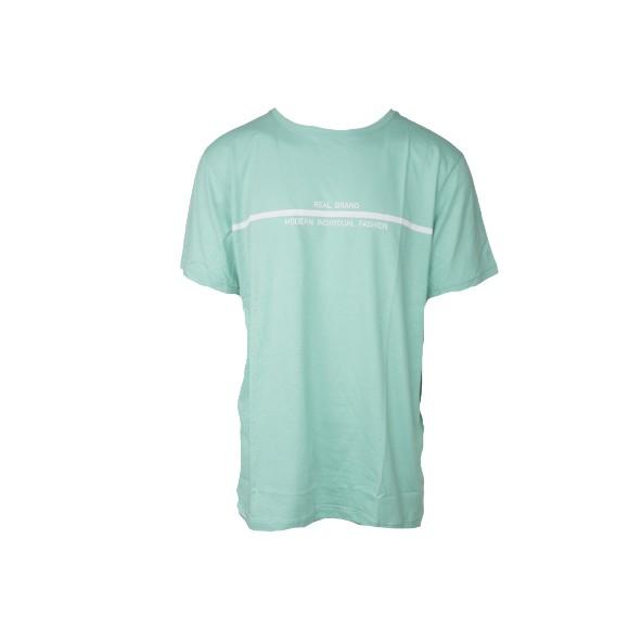 The real brand 06-440 t-shirt τιρκουάζ