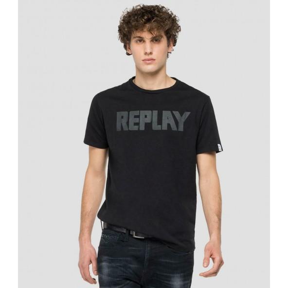 Replay M3409.000.23156G.098 μαύρη μπλούζα