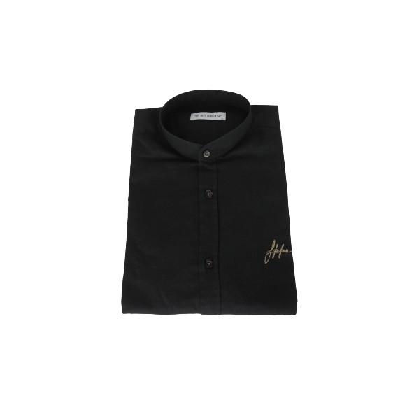Stefan 9036 -s/s 21 shirt black