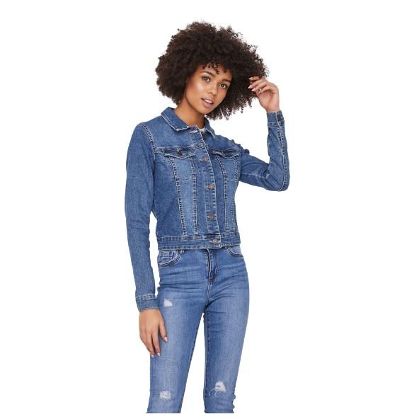 Noisy may 27001163 denim blue jacket