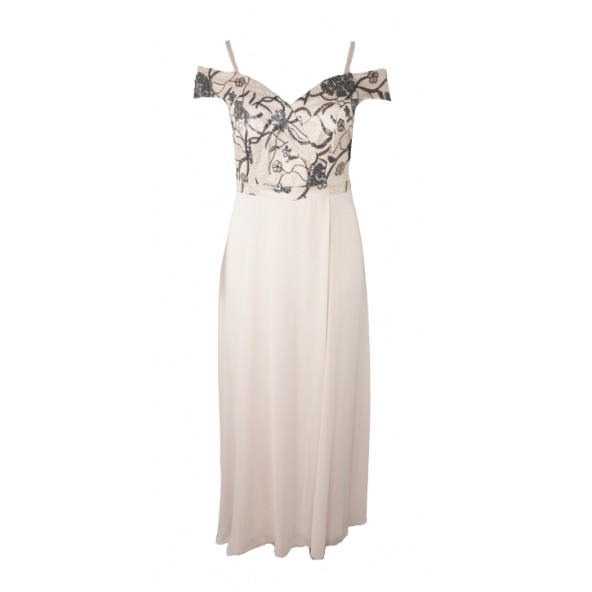 Gioltzoglou 21170 φόρεμα nude