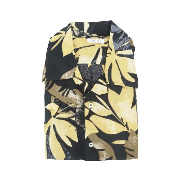D'Zine Filis D-2283 πουκάμισο μαύρο floral