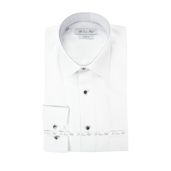 D'Zine Filis D-2271 πουκάμισο λευκό