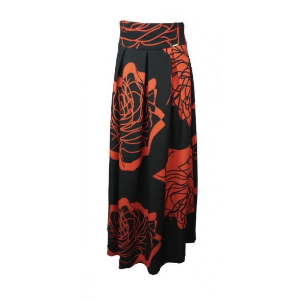 Bsb 136-113016 skirt red