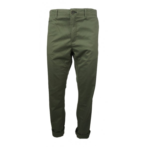 Double CP-232 CHINO PANTS λαδί