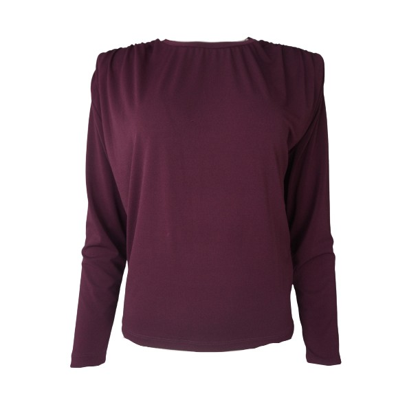 Lynne 146-010014 μπλούζα δαμασκηνί