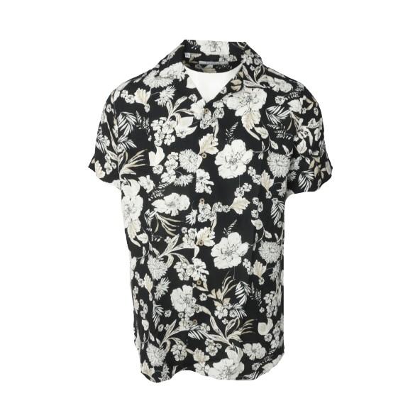 TESSUTI 02186 πουκάμισο μαύρο