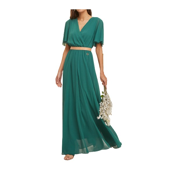 Lynne 046-511012 φόρεμα πράσινο