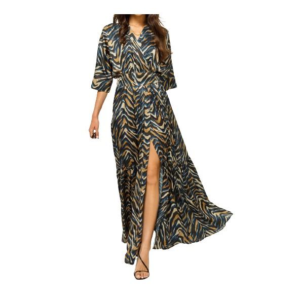Lynne 146-511045 φόρεμα μπλε