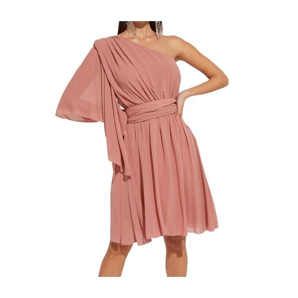 Lynne 046-511023 φόρεμα σαπιο μήλο