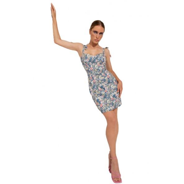 Desiree 08.34155 φόρεμα μπλε