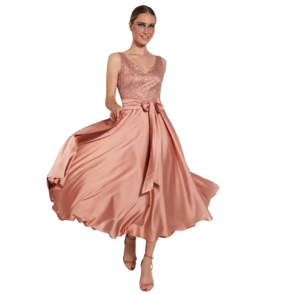Desiree 08.34149 φόρεμα σομόν
