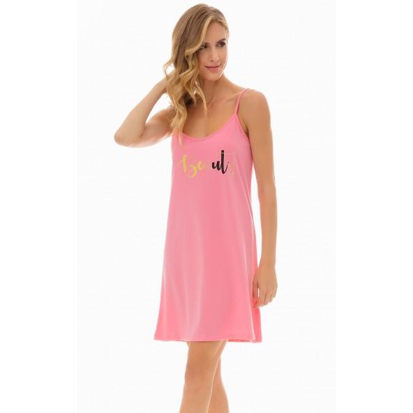Minerva 51981-48 Romance Νυχτικιά dark pink