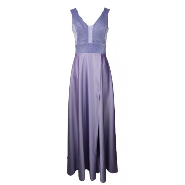 Cecilia A21P160 φόρεμα μωβ