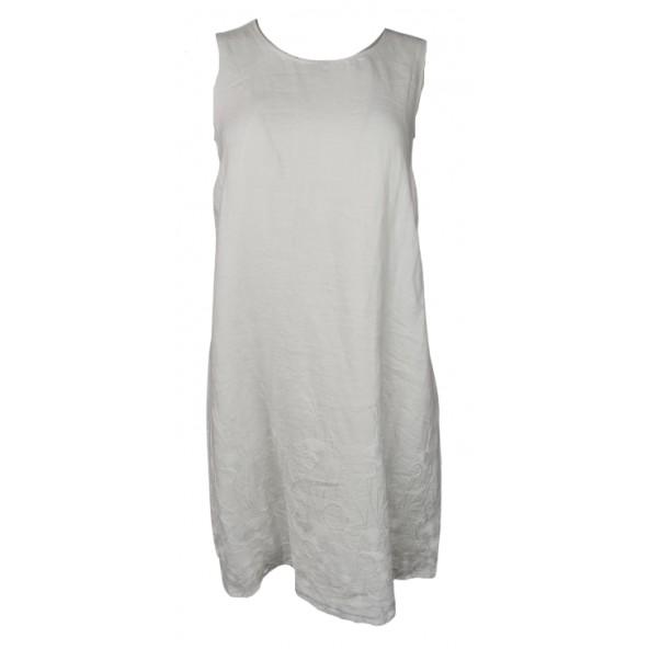 Passager 71508 φόρεμα λευκό