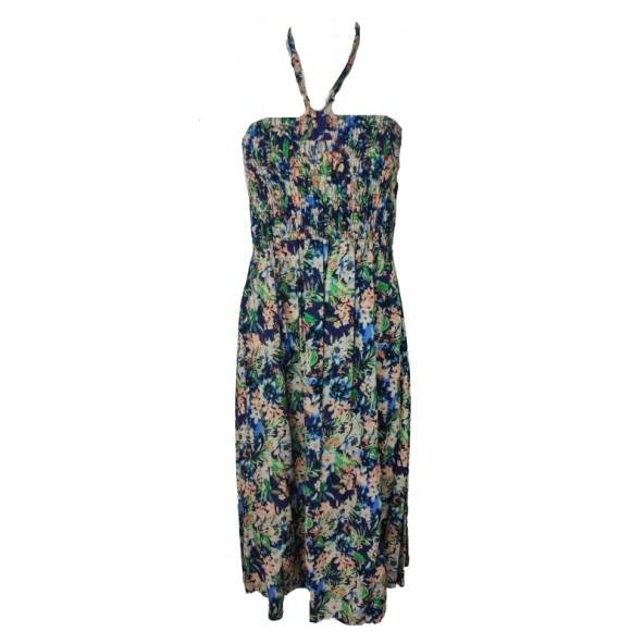 Sugar xxl 0247 dress εμπριμέ navy