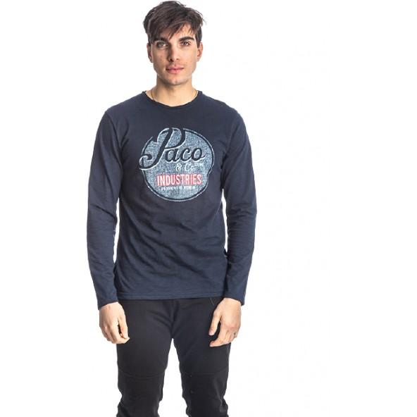 Paco 218528 μπλούζα navy blue