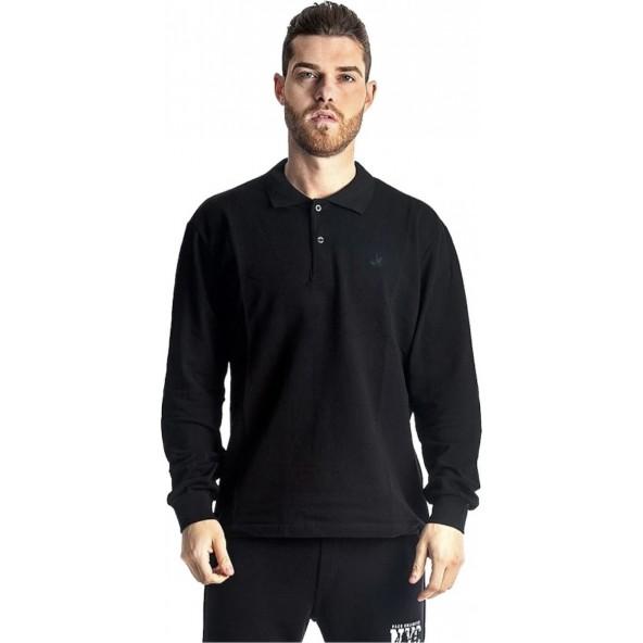 Paco 200301 μπλούζα polo black