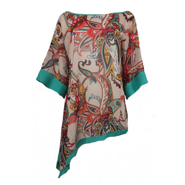 Vagias 1299-133 μπλούζα εμπριμέ