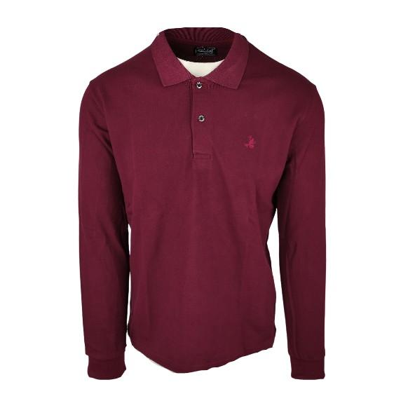 Paco 200301 μπλούζα polo bordeaux
