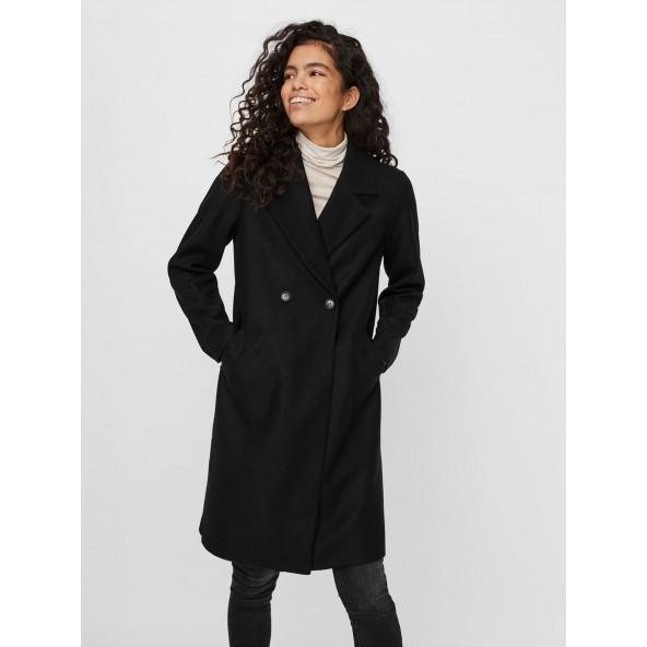 Vero moda 10248236 παλτό black