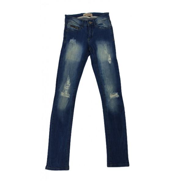 Pink woman 3016.115 jeans blue denim