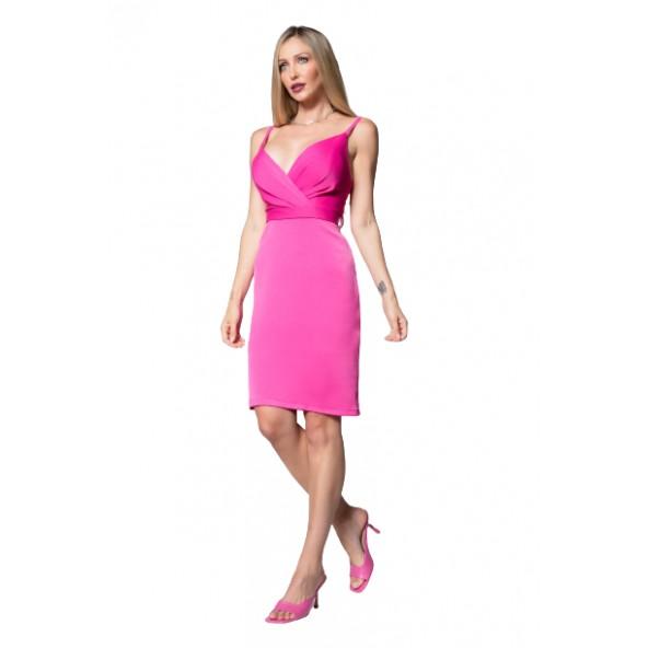 Cecilia personal A21P154 ροζ φόρεμα