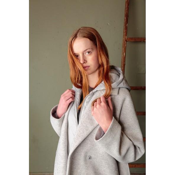Splendid 46-101-036 παλτό γκρι
