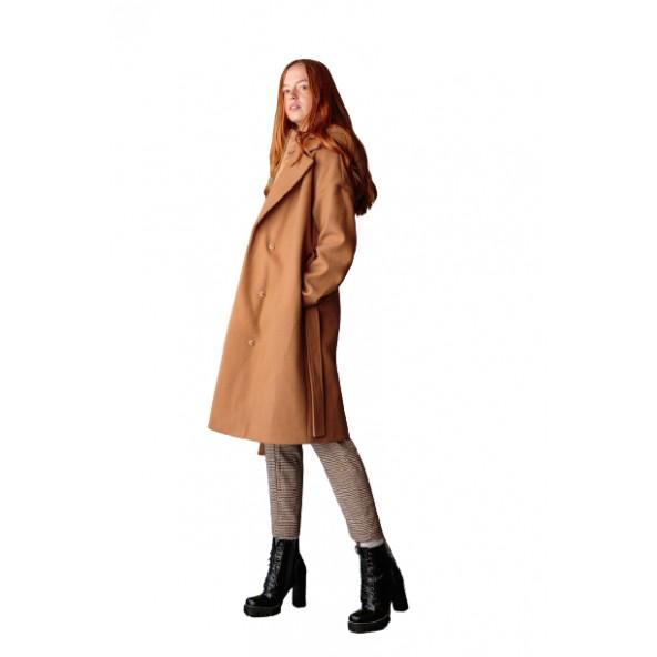 Splendid 46-101-036 παλτό camel