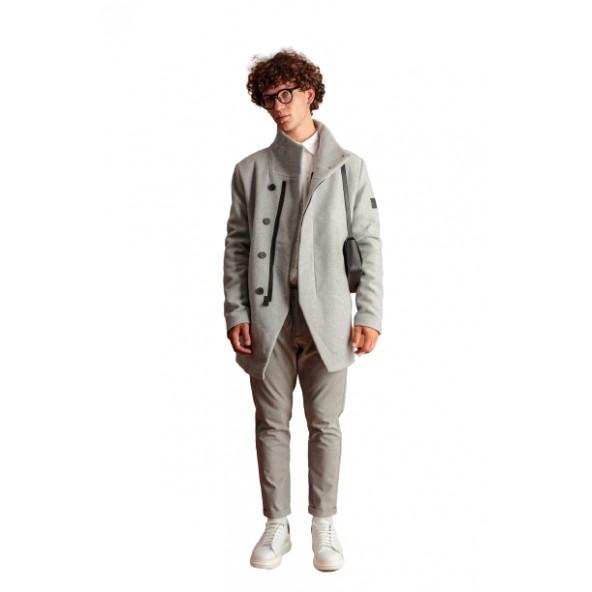 Biston 46-201-050 παλτό γκρι
