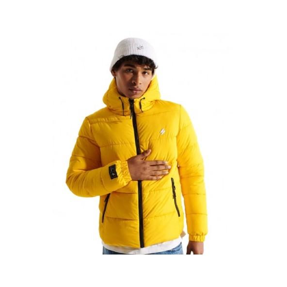 Superdry M5011212A Κίτρινο μπουφάν