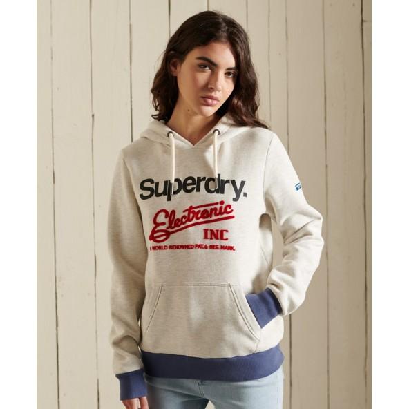 Superdry W2011164A 18C Φούτερ μπεζ