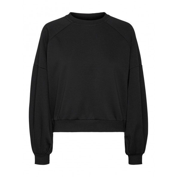 Vero moda 10258863 φούτερ μαύρο