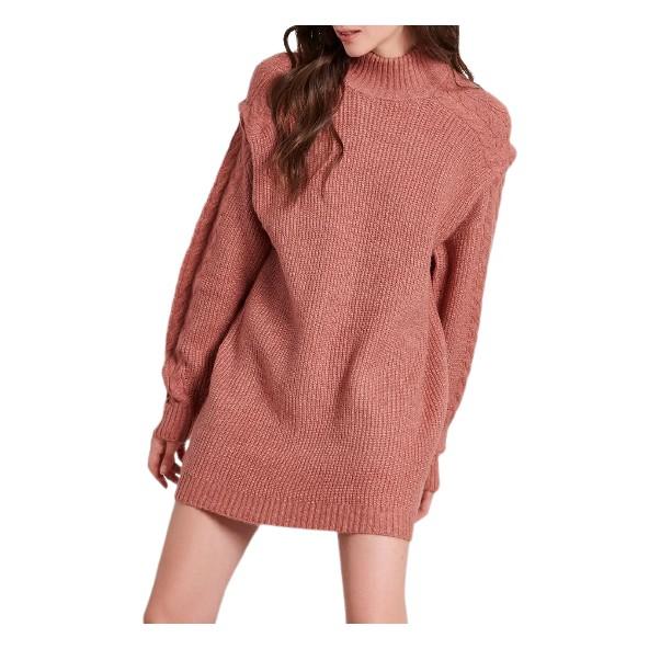 Funky buddha FBL004-103-13 Ροζ φόρεμα