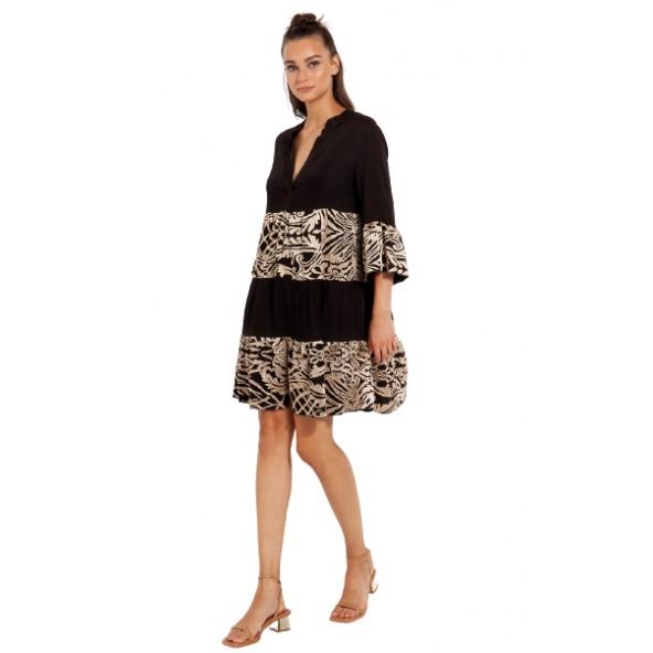Desiree 08.35016 Φόρεμα μαύρο