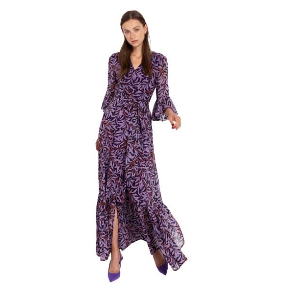 Desiree 08.35046 Μωβ φόρεμα