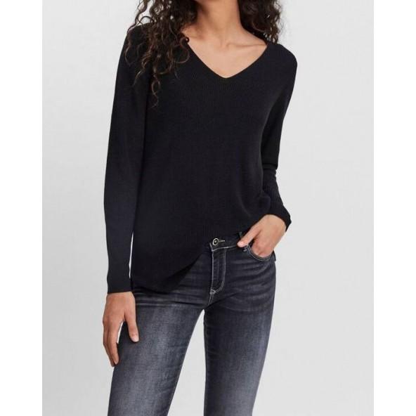 Vero moda 10250847 πουλόβερ black