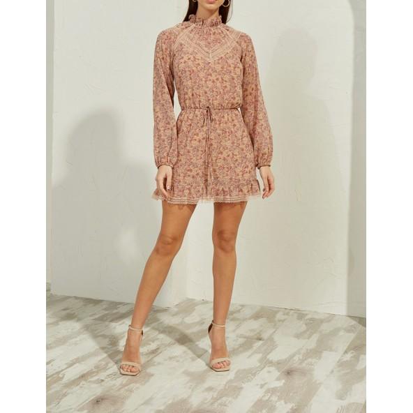 Lynne 146-511047 φόρεμα σομόν