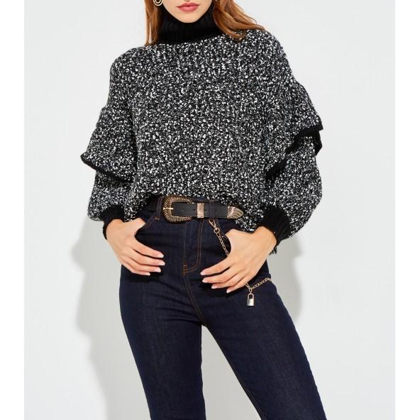 Lynne 046-560009 μπλούζα μαύρη