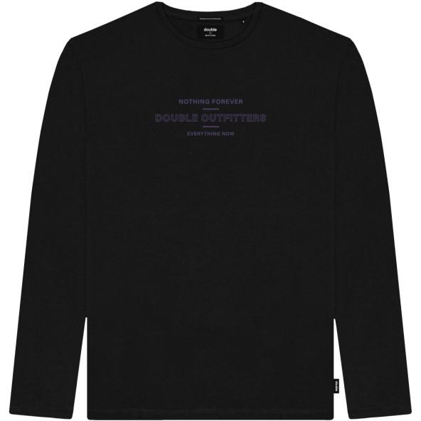 Double TS-178 Μπλούζα μαύρη