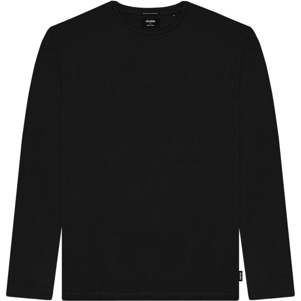 Double TS-177 Μπλούζα μαύρη