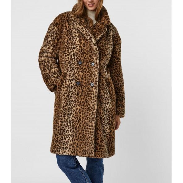 Vero moda 10252189 γούνα animal print